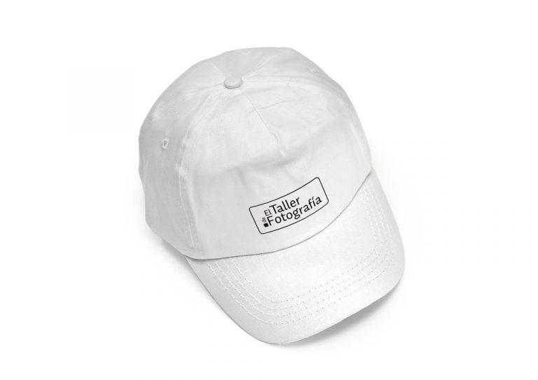 Gorra blanca Taller de Fotografía
