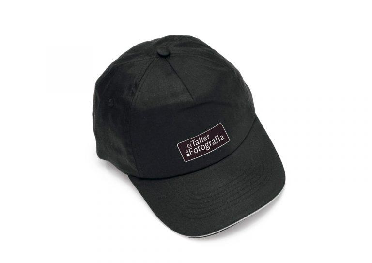 Gorra negra Taller de Fotografía
