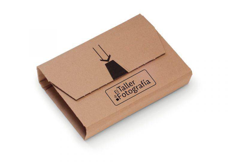 Branding Taller de Fotografia Packaging