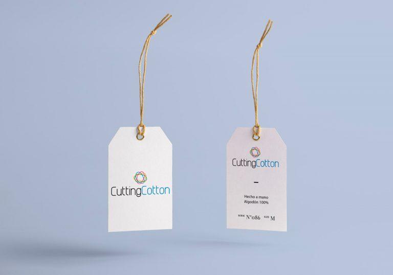 Branding Cutting Cotton etiquetas